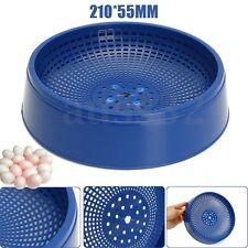 Blue Plastic Racing Pigeon Breeding Eggs Basin Dove Nest Pot Bird Nesting Bowl