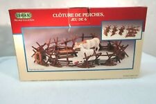 LEMAX ~ Christmas, Spring Village Animal Accessory ~ Split Rail Fence