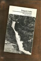 Dolgoch Falls Walks Leaflet Talyllyn Railway 1960's Three Pence