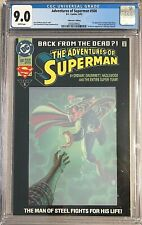 Adventures of Superman #500 - CGC 9.0