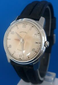 Mens Vintage Hamilton Automatic 17 Jewels Watch.FREE 3 DAY PRIORITY SHIPPING.