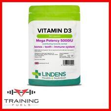 Lindens Vitamin D3 5000IU150  Capsules Healthy Teeth & Bones