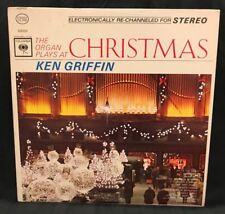 "Vinyl Records LP Christmas Music Ken Griffin Record Vintage Album 12"" Retro"