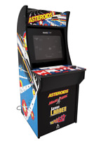 Asteroids Arcade 1up Classic Retro Cabinet Machine Arcade1up 4 In 1 Video Games