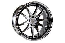 AODHAN DS-02 19x9.5 5x114.3 +15 Black Vacuum (PAIR) wheels