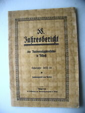 58. Jahresbericht des Bundesrealgymnasiums in Villach Schuljahr 1935/36