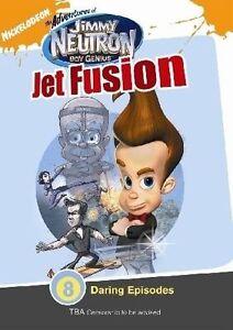 Jimmy Neutron DVD - Jet Fusion Kids - 8 Episodes - Australian Region 4