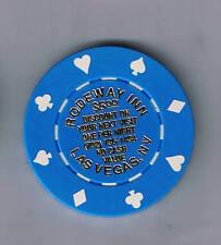 Rodeway Inn $5.00 Discount Casino Trade Chip Las Vegas Nevada