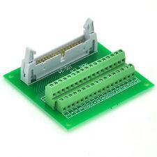 "IDC34 2x17 Pins 0.1"" Male Header Breakout Board, Terminal Block, Connector. x1"