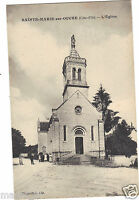 21 - cpa - SAINTE MARIE SUR OUCHE - L'église