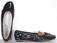 Paul Mayer Attitudes Womens Ballet Flats size 7.5 B Black Sequin WF30