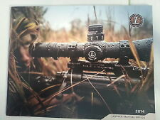 Leupold Tactical Products Catalog Booklet / 2014 / New / 45 Pages Military