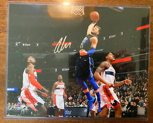 Luka Doncic Signed Photo 11x14