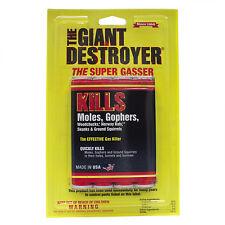 Atlas Chemical Giant Destroyer 4 PACK Kills Rats Moles Gophers Woodchucks Skunks