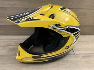 Thor MX SXT-Y Yellow Helmet Off Road Motocross Youth XL 6 7/8 - 7 56cm