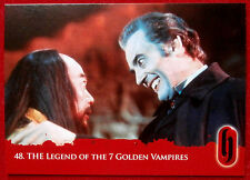 HAMMER HORROR - Series Two - THE LEGEND OF THE 7 GOLDEN VAMPIRES - Card #48