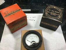 Simpson Ac 0 5 Volts Analog Panel Meter Made In Usa Nos Model155 O 5 Ac Volts