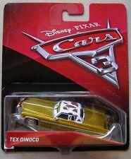 Disney PIXAR Cars 3 TEX DINOCO Cadillac BRAND NEW HTF B CASE