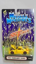 Funline Muscle Machines SS Tuner '02 Fairlady 350Z yellow 1:64 die cast MIB