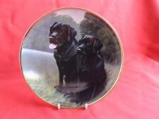 Franklin Mint - Labradors Plate - Sporting Companions