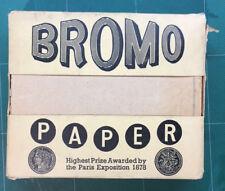 Vintage bromo Intercaladas Papel Higiénico Londres