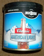 New Mr. Beer Brew Hopped Malt Classic American Light Concentrate Make 2 Gallons