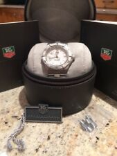 TAG Heuer 2000 Professional White Dial WK1211-0 Mint Condition Worn Twice Swiss
