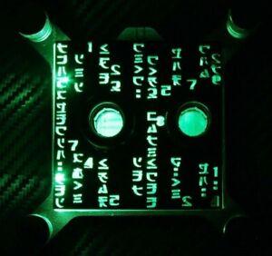 EK-Supremacy MX CPU Waterblock - Custom Modded Plexi - The Matrix Edition White