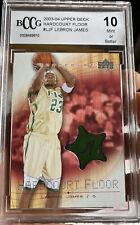 2003 Upper Deck LeBron James Rookie Hardcover Floor #LJF SP BCCG 10 Gem Mint