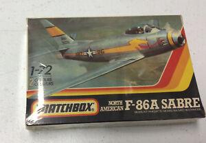 1/72 Matchbox No. Pk-32 North American F-86A Sabre