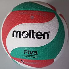 Molten Authentic V5M5000 Official Volleyball PU Leather FIVB APPROVED