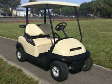 2008 Club Car precedent gas tan golf Cart 2 passenger seat runs great