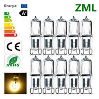 ZML 10x G9 LED Bulb 25W 40W 50W 60W Halogen Lamp Super Bright Warm White 220V