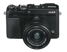 Fuji Fujifilm X-E3 Digital Camera Black + XC 15-45mm Zoom Lens (UK Stock) BNIB