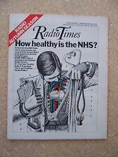 Radio Times/1974/National Health Service/Mickie Most/Robert Robinson/Ned Sherrin