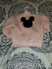 Little girls Mickey  Mouse Jacket 4T Pink