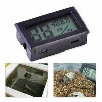 New Rectangle Digital Cigar LCD Humidor Hygrometer Thermometer Humidity Monitor