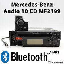 Mercedes Audio 10 CD MF2199 MP3 Bluetooth Autoradio AUX Klinkenstecker Radio RDS