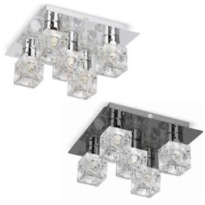 MiniSun Ceiling Light -  Modern Ice Cube Design Fitting 5 Way Flush Spotlight A+