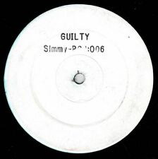 "SIMMY-guilty   white label 12""    (hear)  reggae"