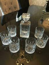 Royal Doulton Seasons Crystal 7 Piece Decanter Set with 6 Tumblers Glasses