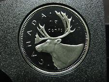 1990 Canadian Proof Quarter ($0.25)