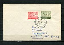 MS Prinzesin Desiree Frederikshaven - Göteborg  Sammlerbrief 1956  (SP)
