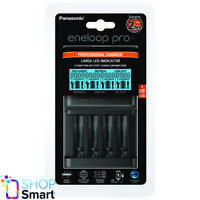 PANASONIC ENELOOP PROFESSIONAL CHARGER BQ-CC65 LED USB AC100-240V 50-60Hz NEW