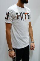 WHITE OFFICIAL - T Shirt Casual Uomo Donna Unisex Mezza Manica Manica Corta 2020