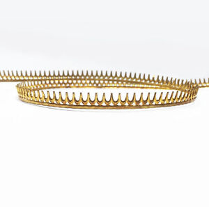 24 Inch (61cm)x 5.5mm Width Brass Strip Gallery Decorative Ribbon Pattern Wire