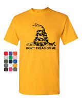 Don't Tread On Me T-Shirt Gadsden Flag Political Patriot