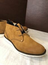 Kenneth Cole Reaction Men's Casino Chukka Boots Tan Size 11.5 M