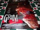 Grim movie rental poster 1996 Horror Halloween rare display collectible A-Pix