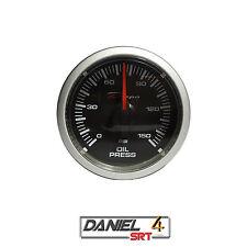 Oil Pressure Gauge (52mm) Transparent Lens (Super White LED Display) Depo Racing